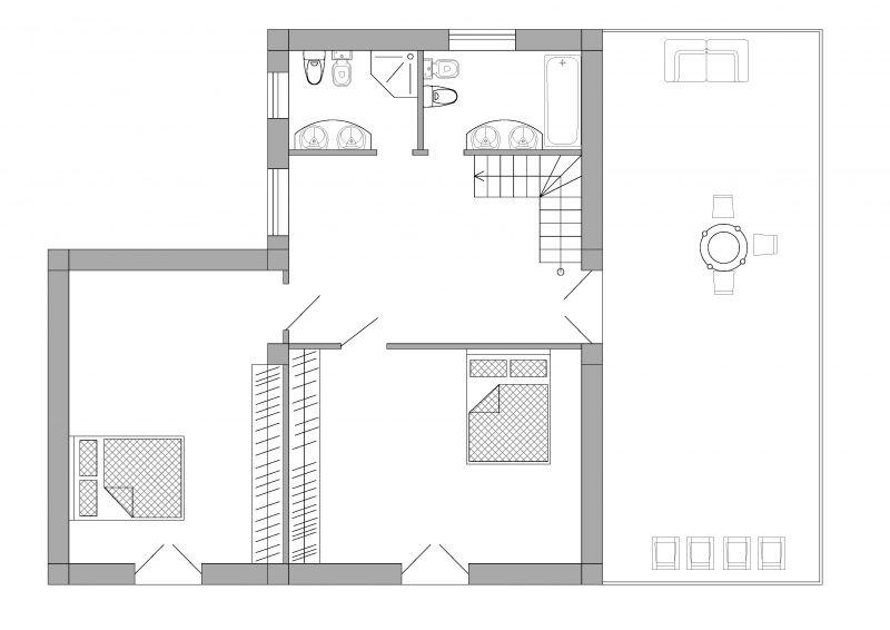 2. план второго этажа