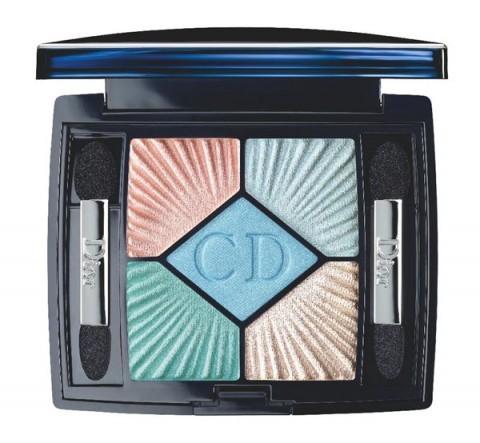 Dior Summer 2012 eyeshadow palette