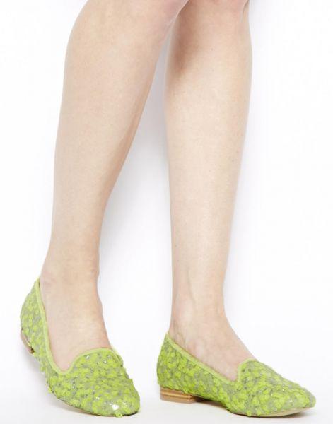 зеленые тапочки