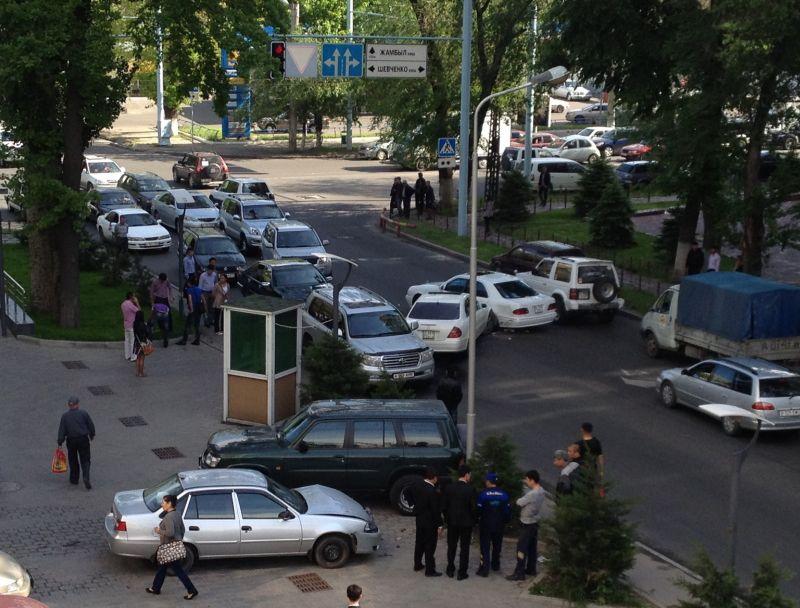 ДТП на Муканова-Шевченко