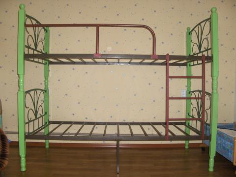 Как сделать двухъярусную железную кровать