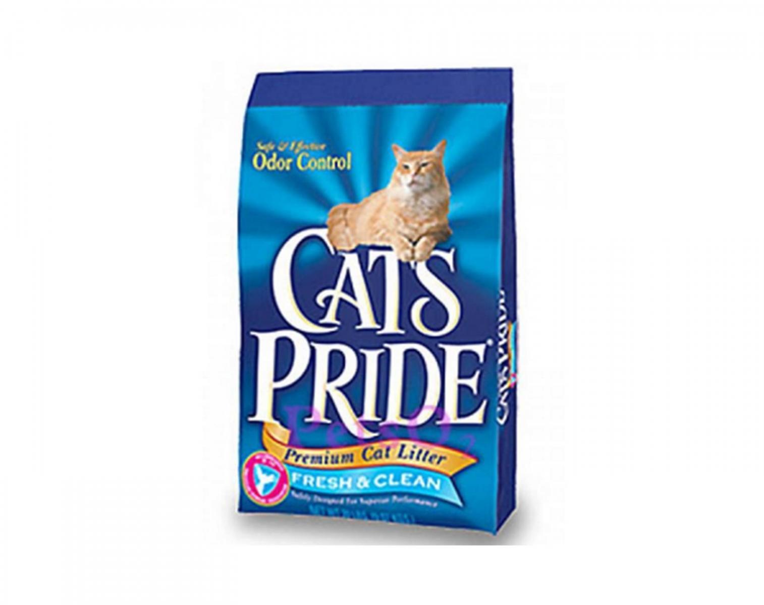 Naturally fresh cat litter flushable