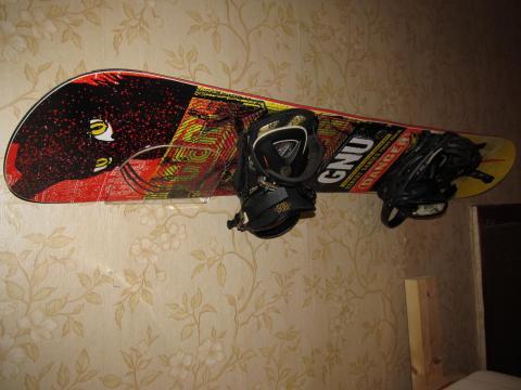 Как сделать домашний сноуборд