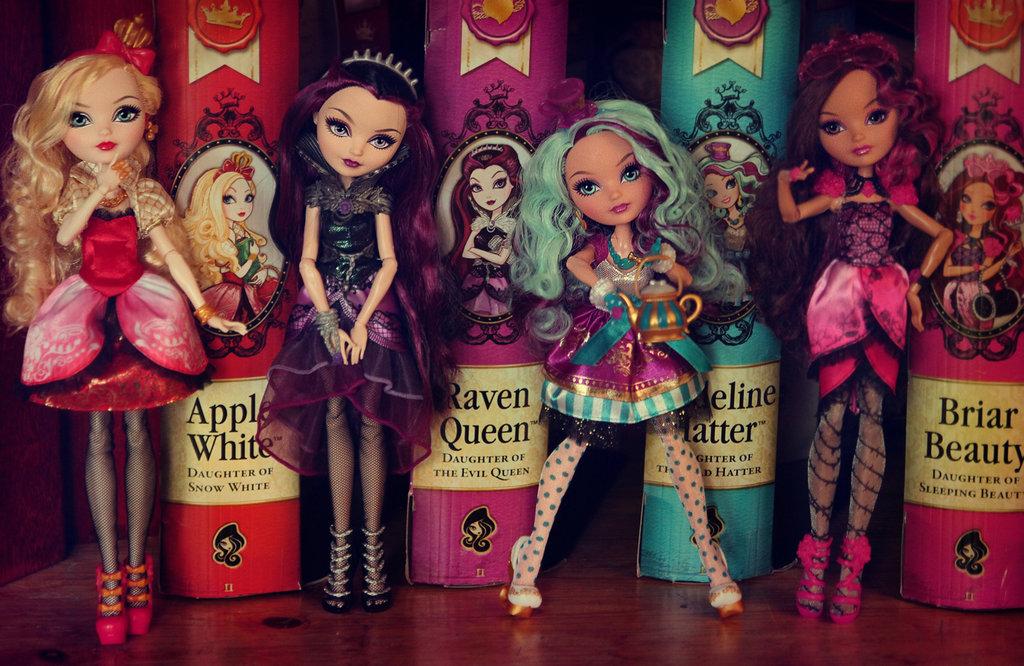 все куклы эвер афтер хай и их имена фото что встроенном