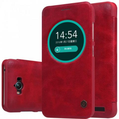 Asus Zenfone Max Qin leather case wine red (1)-500x500.jpg