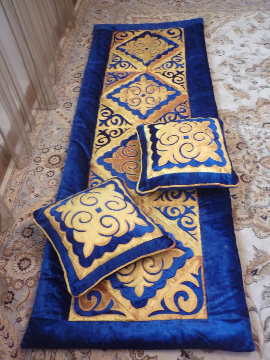 Традиционный вид народного прикладного творчества казахские корпе 67