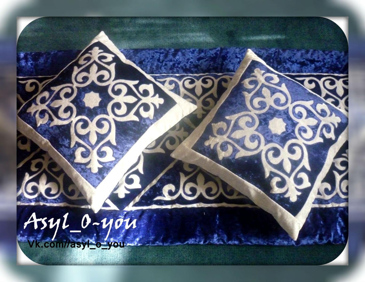 Традиционный вид народного прикладного творчества казахские корпе 34