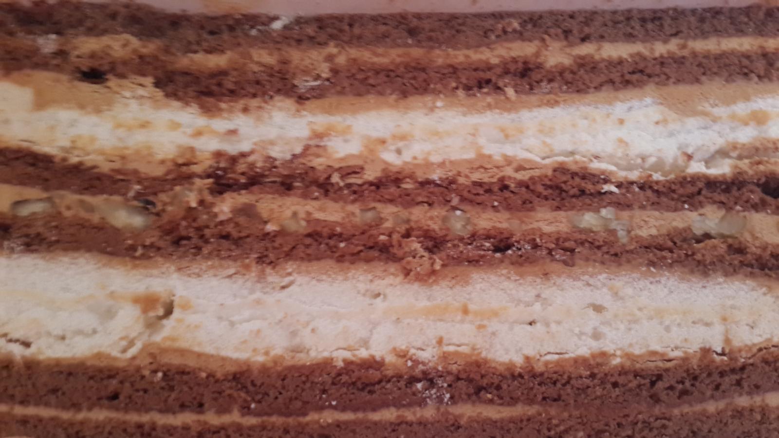 Торт из готовых бисквитных коржей 20