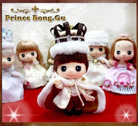 Кукла ddung 10000 тенге принц бонг 18 см 1