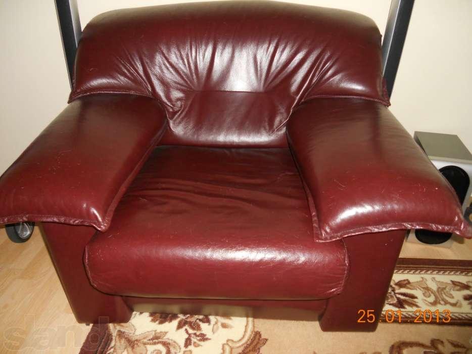 Кожаные кресла руководителя с