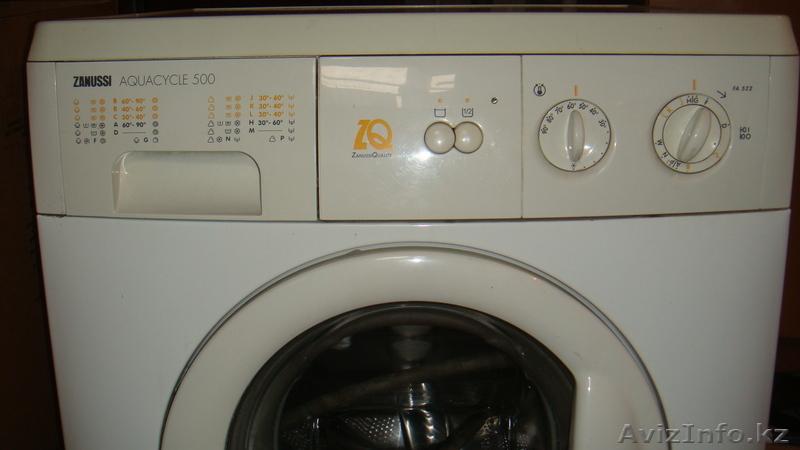 инструкция стиральная машина автомат занусси