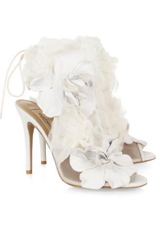 Купить Красивые Белые Босоножки
