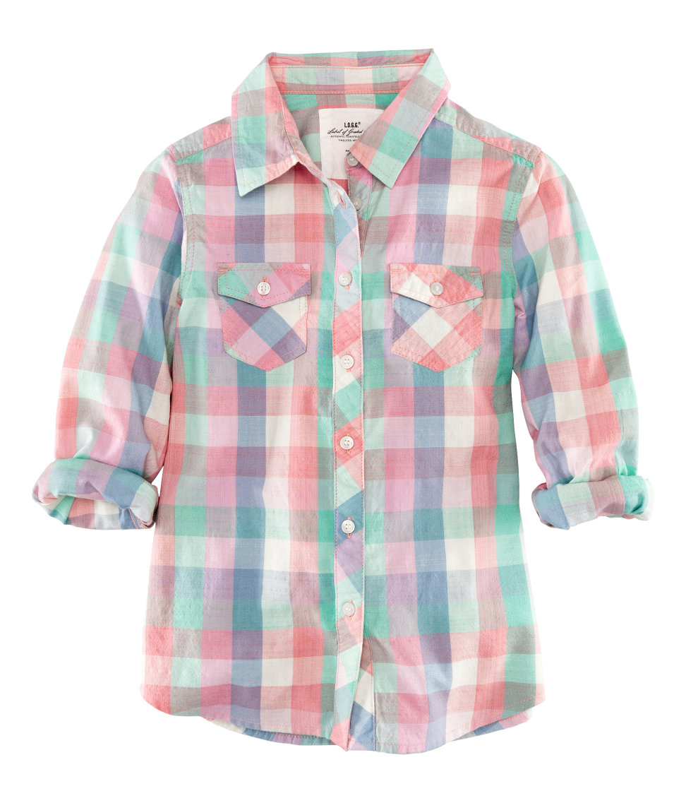 Рубашки для девочек 1