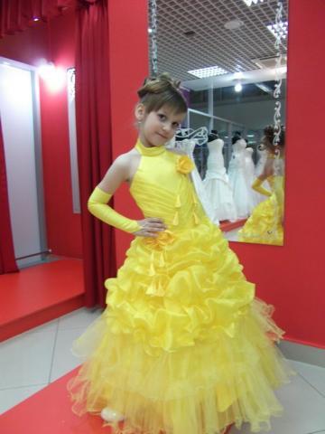 Бальные платья для детей