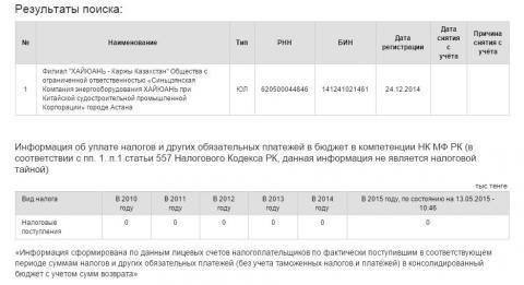 Филилал ХАЙЮАНЬ-Каржы Казахстан nalog.JPG