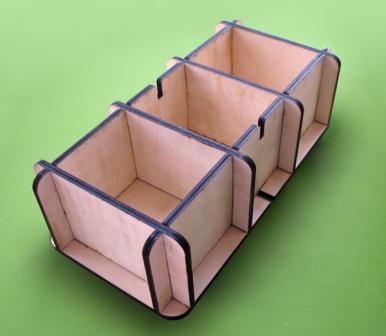 Форма для блоков из дерева