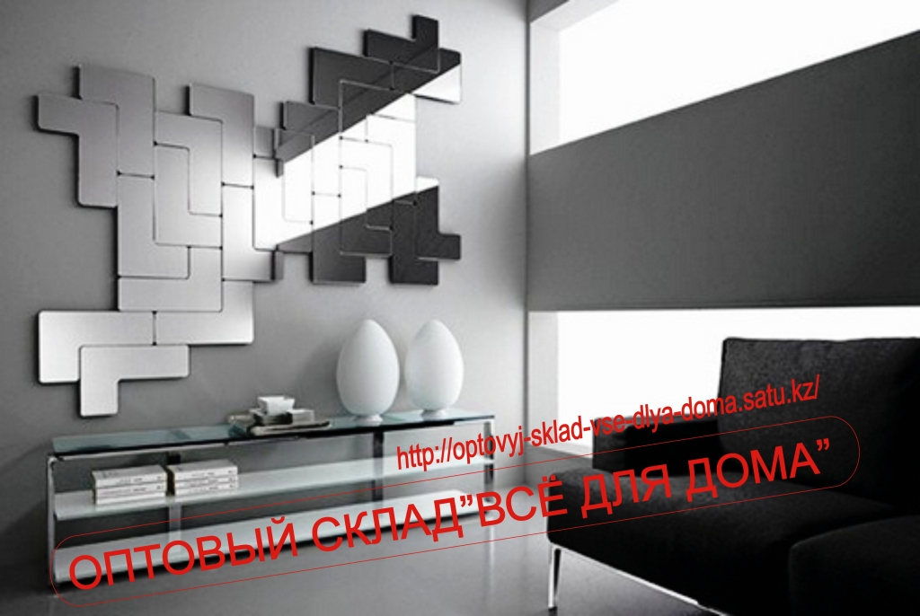 Unique Modular Tetris Mirror for Modern Room Decoration Unique