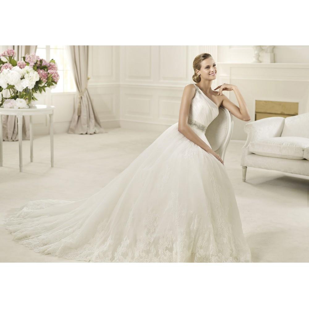606f836f581 Шикарное брендовое свадебное платье Pronovias Diosa 2013 - дешево ...