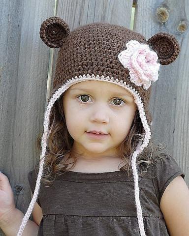 детские шапочки связанные крючком на