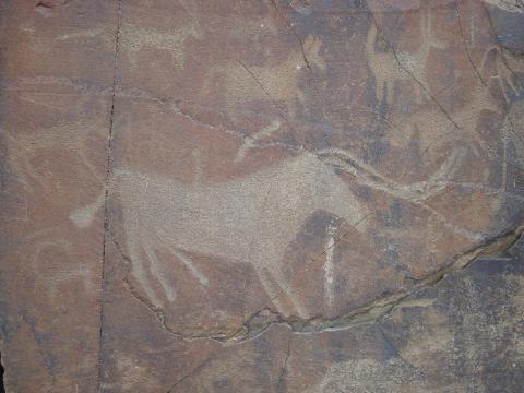 Бык 3000 лет до н.э. Тамагалытас.JPG