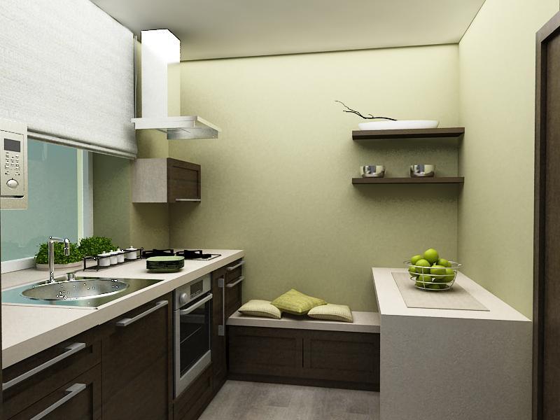 Дизайн кухонь 6м2