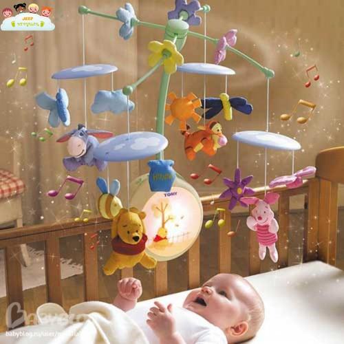 Карусель для новорожденных своими руками