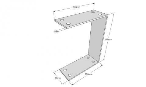Чертеж стальной шины - Вид 1.jpg