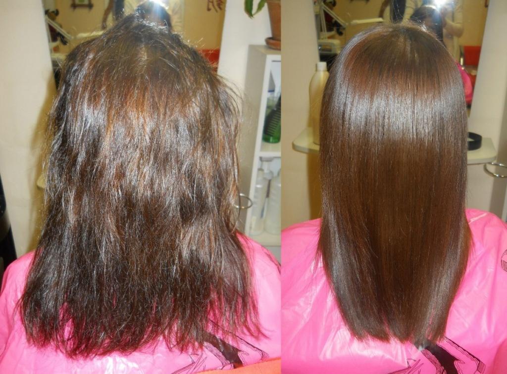 Чем заменить кератиновое выпрямление волос
