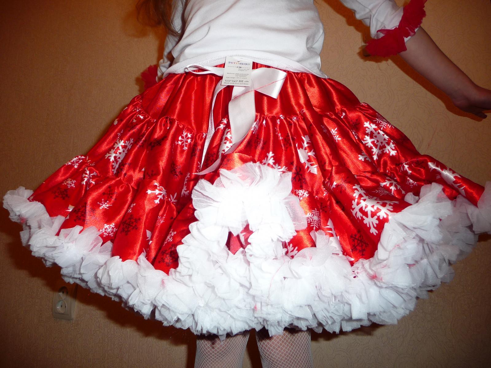 Как сшить юбку из органзы для девочки 359