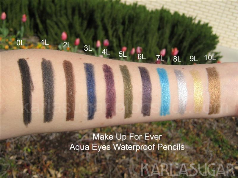 Aqua eyes makeup forever