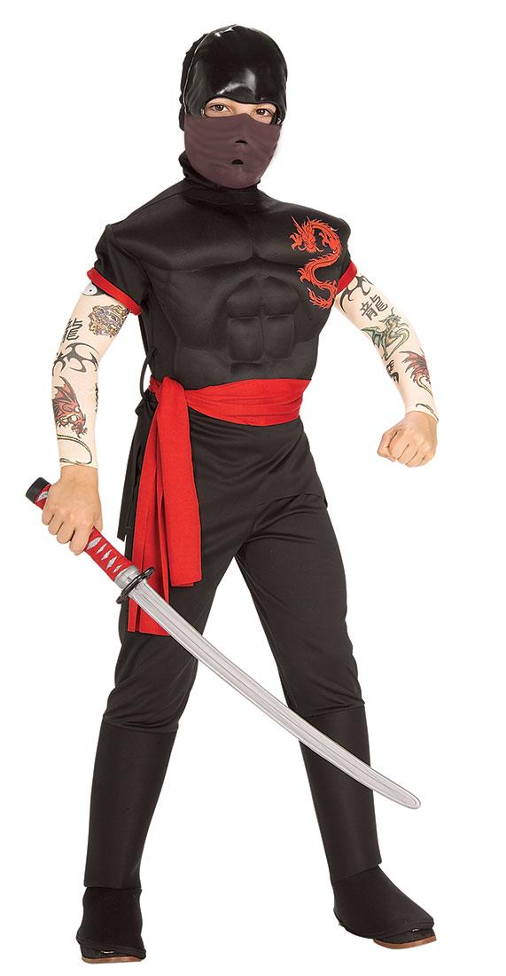 Новогодний костюм для мальчика ниндзя своими руками фото