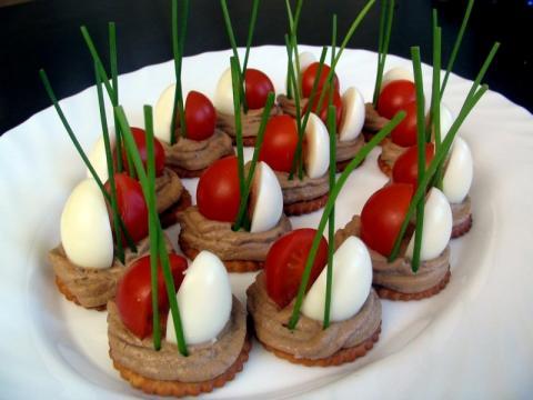 Необычные закуски на праздник с фото