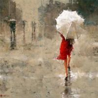 Фотография Белый зонтик
